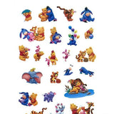 Stickers <br> Winnie l'Ourson 24 pcs mynounours 4