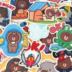 Stickers Ours 40 pcs mynounours