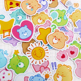 Stickers Ours <br> Bisounours 40 pcs mynounours