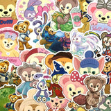 Stickers Ourson 36 pcs mynounours