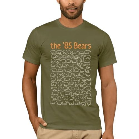 T-shirt Ours en Peluche <br> The 85 Bears mynounours Vert S