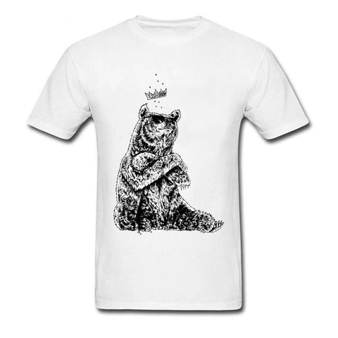 T-shirt Ours en Peluche <br> The King 58 mynounours