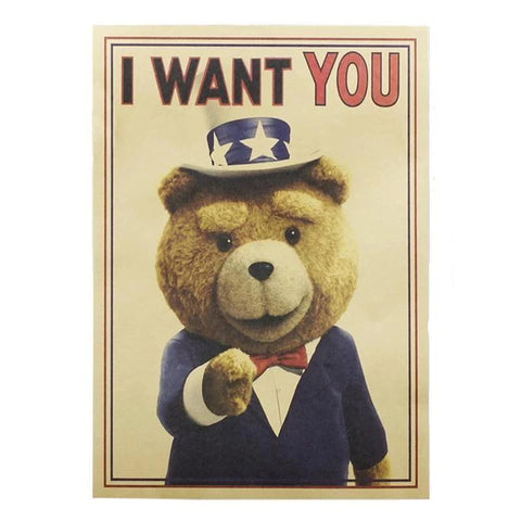 Tableau Ours <br> I Want You mynounours