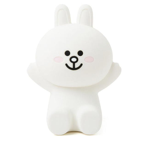 Veilleuse Ours <br> Blanc mynounours Lapin