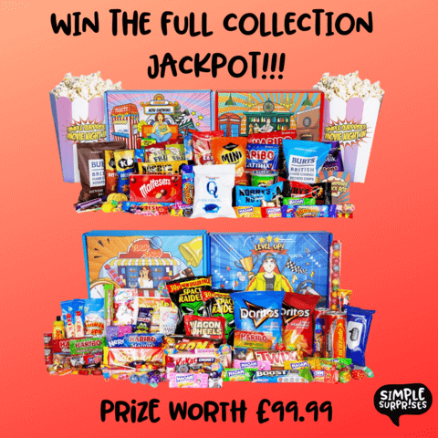 Win The Full Collection Jackpot