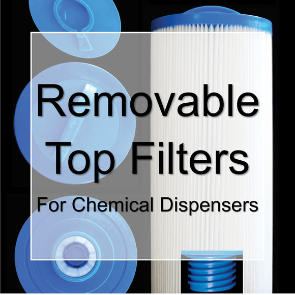 Removable Top Filter Cartridges