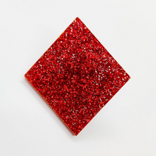 Load image into Gallery viewer, Red Diamond Card Pip Laser Cut Arcylic Brooch