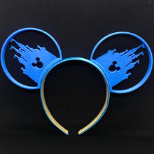 Load image into Gallery viewer, Castle and Mouse Head 3D Printed Mouse Ears