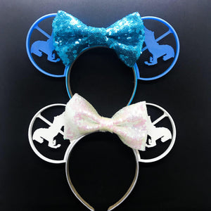 Carousel Horses 3D Printed Mouse Ears