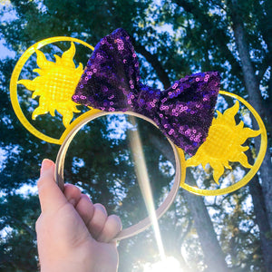 Sun 3D Printed Mouse Ears