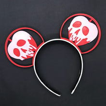 Load image into Gallery viewer, Poison Apple Red 3D Printed Ears