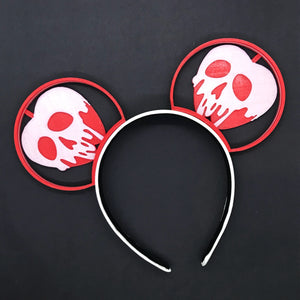 Poison Apple Red 3D Printed Ears