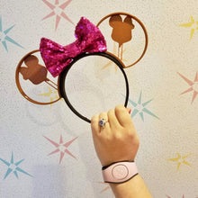 Load image into Gallery viewer, Mouse Head Ice Cream Bar 3D Printed Mouse Ears