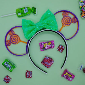 Halloween Mouse Head Lollipop Candy 3D Printed Mouse Ears