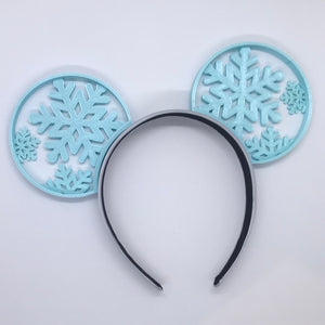 Snowflake 3D Printed Mouse Ears