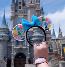 Load image into Gallery viewer, Rainbow Mouse Head Balloons 3D Printed Mouse Ears