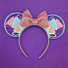 Load image into Gallery viewer, Pastel Teacups 3D Printed Mouse Ears