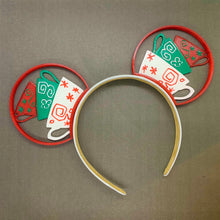 Load image into Gallery viewer, Christmas Teacups 3D Printed Mouse Ears