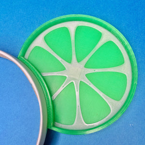 Lime Wedge Citrus 3D Printed Mouse Ears