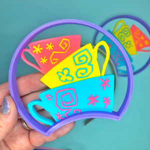 Bright Teacups 3D Printed Mouse Ears