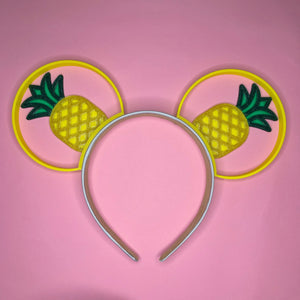 Pineapple 3D Printed Mouse Ears