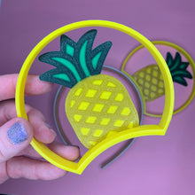 Load image into Gallery viewer, Pineapple 3D Printed Mouse Ears