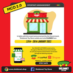 Stay Home! MCO 2.0 Is Here!