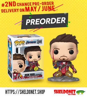 "2nd Chance in Preordering ""I am Iron Man"" Deluxe Pop!"