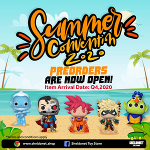 Fun's Out! Preorders for Summer Convention 2020 Pop!s are now Open!