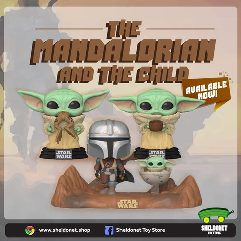 The Mandalorian & The Child (Baby Yoda)
