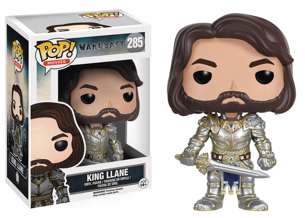 Pop! Movies: Warcraft - King Llane - Sheldonet Toy Store
