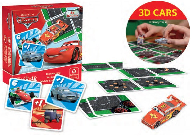 CARTAMUNDI: SHUFFLE TWIST - Disney.Pixar Cars - Sheldonet Toy Store