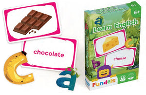 CARTAMUNDI: Fundels Standard - Learn English - Sheldonet Toy Store