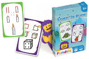 CARTAMUNDI: Fundels Standard - Learn To Draw - Sheldonet Toy Store