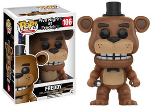 POP! Games: Five Nights at Freddy - Freddy - Sheldonet Toy Store