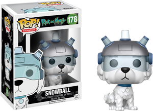 POP! Animation: Rick And Morty - Snowball - Sheldonet Toy Store