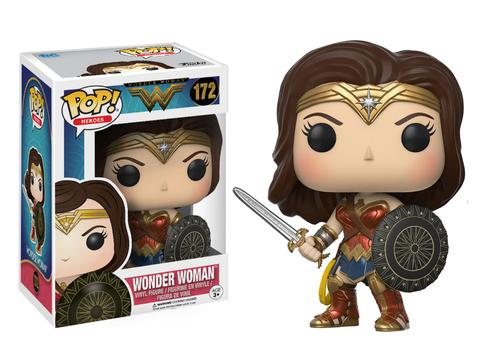Pop! Movies: DC - Wonder Woman - Wonder Woman with Sword - Sheldonet Toy Store