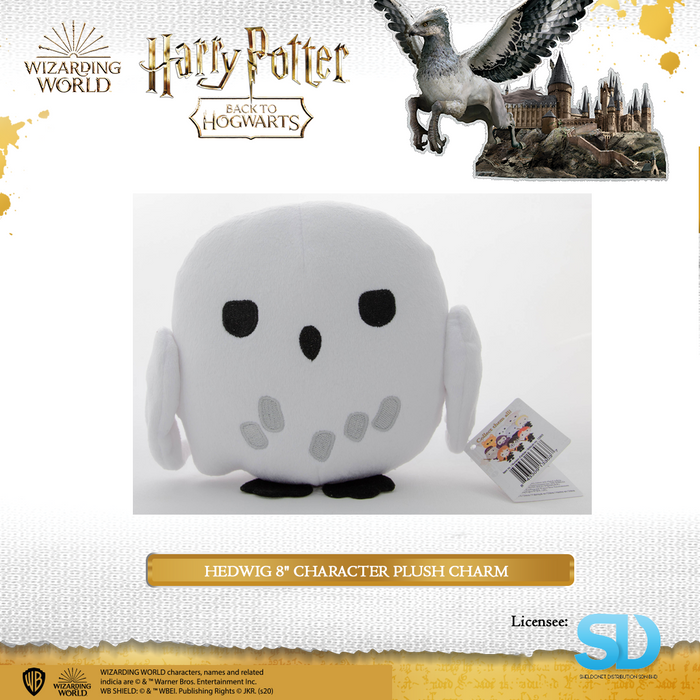 "HARRY POTTER - Hedwig 8"" Character Plush Charm"