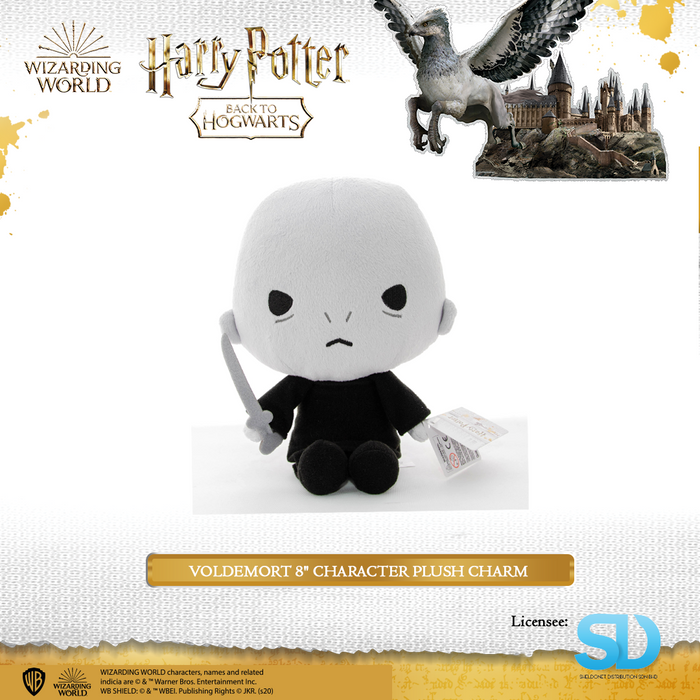 "HARRY POTTER - Voldemort 8"" Character Plush Charm"