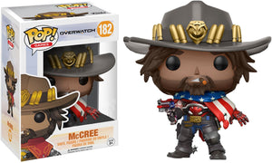 POP! Games: Overwatch - McCree [Exclusive] - Sheldonet Toy Store