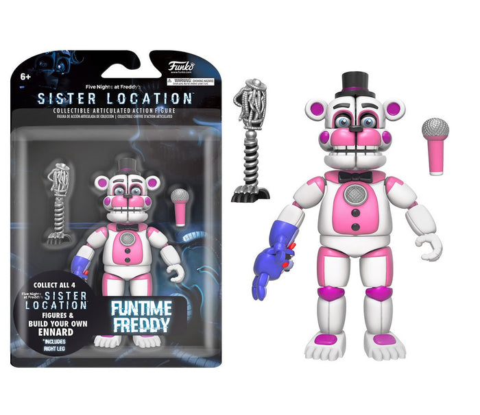 Funko! Five Nights At Freddy's: Sister's Location - Funtime Freddy 5-inch Action Figure