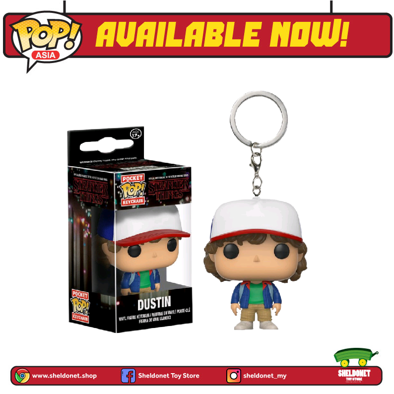 Pocket Pop! Keychain: Stranger Things - Dustin