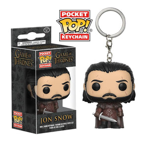Pocket POP! Keychain : Game Of Thrones - Jon Snow (Series 2) - Sheldonet Toy Store