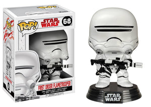POP! Star Wars: EP8 - First Order Flametrooper - Sheldonet Toy Store