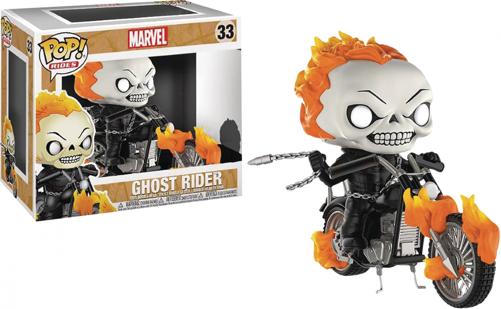 Pop! Rides : Ghost Rider - Ghost Rider Classic [Exclusive] - Sheldonet Toy Store