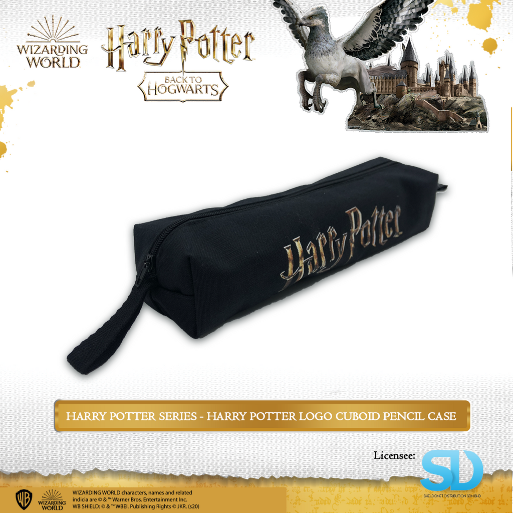 Wizarding World of Harry Potter - Harry Potter Logo Cuboid Pencil Case - Sheldonet Toy Store