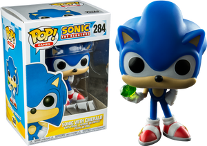 Pop! Games: Sonic - Sonic With Emerald - Sheldonet Toy Store