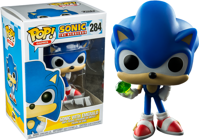Pop! Games: Sonic - Sonic With Emerald