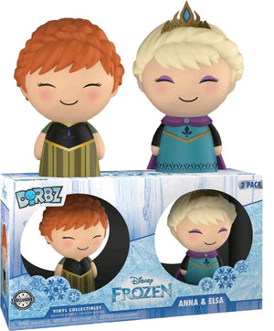 Dorbz: Frozen - Elsa & Anna 2 Pack [Exclusive] - Sheldonet Toy Store
