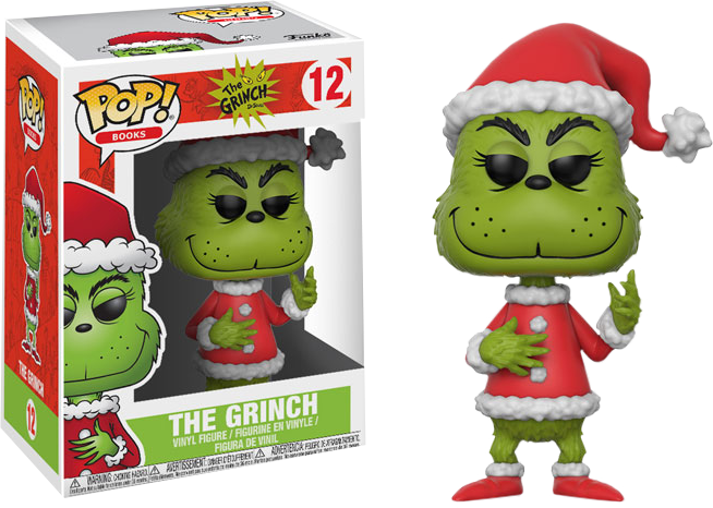 POP! Books: The Grinch (Santa Grinch) - Sheldonet Toy Store